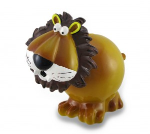 lion piggy bank